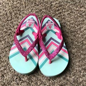 Toddler girls Reef Flip Flops